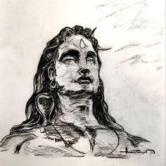 Lord Shiva Sketch, Ganesha Sketch, Lord Shiva Hd Wallpaper, Shiva Tattoo, Rudra Shiva, Shiva Shakti, Shiva Art, Hindu Art, Shiva Meditation