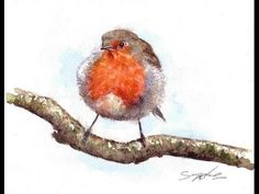 Watercolor birds tutorial helper 23