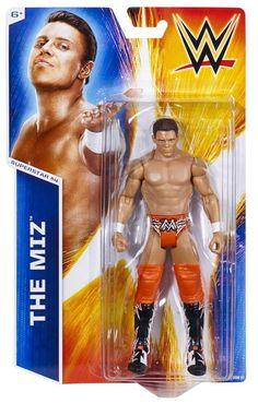 THE MIZ WWE Mattel Basic Series 45 Action Toy Figure - PACKAGE DAMAGED - http://bestsellerlist.co.uk/the-miz-wwe-mattel-basic-series-45-action-toy-figure-package-damaged/