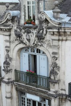 Beautiful facade, Pau, France