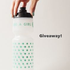 Giveaway time! Our community is almost 5000 strong and to celebrate we are giving away some Cycle Like a Girl bottles!!! .