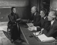 "maria casares   Maria Casares in ""Orphée"" directed by Jean Cocteau, 1950"