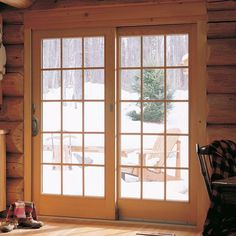 Renewal by Andersen French Wood Glider Patio Door 8668386432