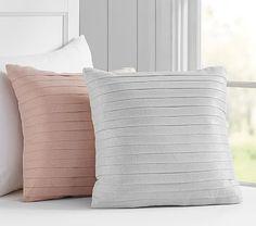 Metallic Pleated Decorative Pillows #pbkids