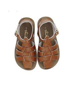Shark Sandal Tan - Salt Water Sandals - Online Kids & Teens Webshop  Goldfish.be