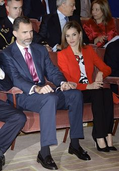 Royal Family Around the World: Spanish Royals attends the CSIC 75th Anniversary event on November 24, 2014 in Madrid, Spain