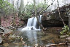 Desoto State Park is accented by rushing waterfalls and fragrant wildflowers. This 3,502-acre park is nestled atop scenic Lookout Mountain in northeast Alabama along the beautiful Little River.