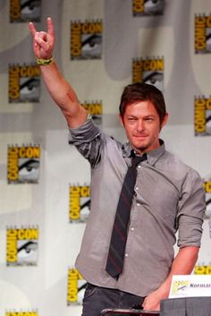 A great picture of Norman Reedus