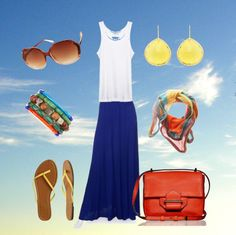 """Colorful Summer"" by Catherine Anderson on Polyvore"