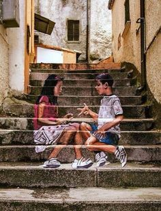 Nice to meet you.. —  street art