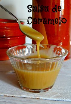 The Yellow Kitchen....by Patricia: Salsa de caramelo...