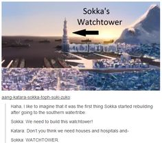 SOKKA'S WATCHTOWER. #Avatar #TLA #LOK #Korra