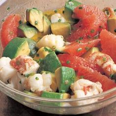 William Sonoma's lobster avocado and watermelon summer salad- yes.