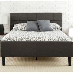 Mercury Row® Amici Upholstered Platform Bed