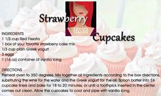 NH-based Wine Guide Mel Eitel Its National Strawberry Shortcake day! We not only have a wine for that we have a great Fissata and strawberry cupcake recipe to go with Tags: Wine Cupcakes, Red Cupcakes, Cooking Wine Recipes, Strawberry Cupcake Recipes, Wine Mixers, Traveling Vineyard, Cupcake In A Cup, Vanilla Icing, Wine Cocktails