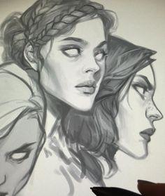 Watching films and doodlin' ✌️ Sketch Inspiration, Character Design Inspiration, 3d Drawing Tutorial, Tarot, Art Prompts, 3d Drawings, Pandora, Human Art, Pretty Art