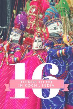 16 Things to do in Kochi, India - Fort Cochin - Kerala - Shopping