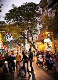Hanoi Old Quarter, Vietnam, www.marmaladetoast.co.za #travel find us on facebook www.Facebook.com/marmaladetoastsa #inspired #destinations