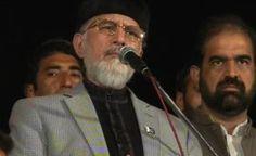 Qadri to hold public rallies in Faisalabad, Lahore |