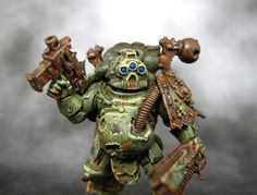 Rust and the city: Death guard with rusty weps