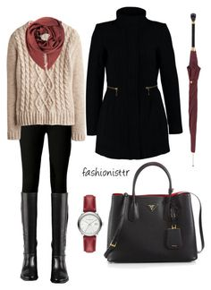 """Başlıksız #58"" by fashionisttr on Polyvore featuring Michael Kors, Cole Haan, Joules, Prada, Vero Moda, Gucci, Alexander McQueen, Burberry, women's clothing and women's fashion"