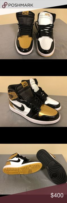 "Jordan 1 ""Gold Top 3"" Size 9.5 DEADSTOCK SIZE 9.5 MORE ITEMS AVAILABLE IN"