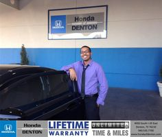 Congratulations to Kyle Hebridean on your #Honda purchase from Isaac Salazar at Honda of Denton! #RollingInStyle