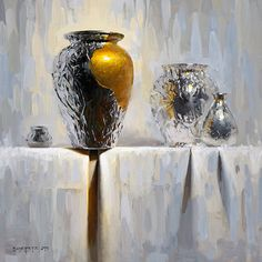 Prosperity by David Cheifetz Oil ~ 12 x 12