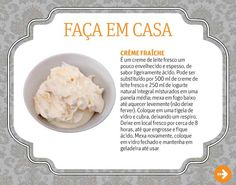 como fazer creme fraiche Creme Fraiche, Cakes, Food, Plain Yogurt, Cook, Log Projects, Gourmet, Mudpie, Cake