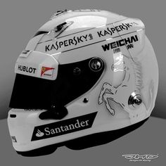 Vettel's Canadian GP Helmet