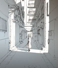 Homura did nothing wrong Perspective Drawing Lessons, Perspective Art, Perspective Photography, Family Photography, Environment Concept Art, Environment Design, Art Sketches, Art Drawings, Background Drawing