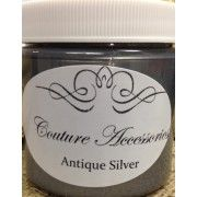 use this metallic paint for furniture to get a deep rich antique silver. Use it over Siberian Shale Paint Couture! Dries very hard and durable! Silver Metallic Paint, Metallic Painted Furniture, Acrylic Furniture, Cabinet Furniture, Furniture Ideas, Painting Cabinets, Antique Silver, Glaze, Stencils