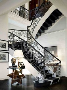 stairs-but put music notes instead of swirls, of course I will be have to be makin bank!