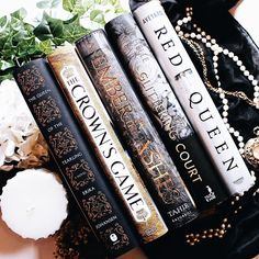 The aesthetically pleasing spines of some beautifully written books