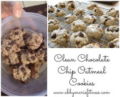 From Flab to Fab!: Clean Chocolate Chip Cookies