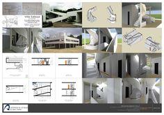 Escalera y rampa de villa saboya- Le Corbusier Elaborado por: José Francisco Rodriguez Padilla