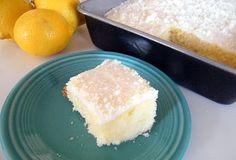 Candy Girl: Lemon Buttermilk Sheet Cake