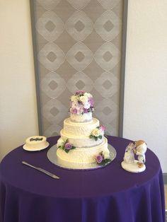 Bri and Matt's Wedding Cake