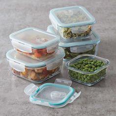 Sur La Table 10-Piece Glass Storage Container Set | Sur La Table