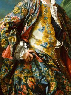 Charles-André Van Loo, Portrait de Jacques-Germain Soufflot (detail)      18th century