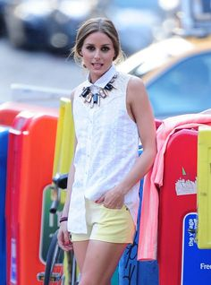 """Olivia Palermo ♥♡♥♡♥Thanks, Pinterest Pinners, for stopping by, viewing, re-pinning,  following my boards.  Have a beautiful day! ^..^ and """"Feel free to share on Pinterest ^..^ #fashion   #fashionupdates"""