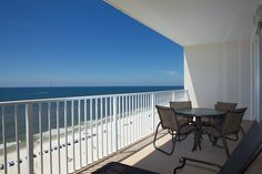 The Balconey of Lighthouse 1207 http://www.paradisegulfproperties.com/