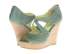 Mint Wedge Shoes