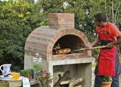 This fabulous Pizza Oven couldn't be easier to make. Be sure to view all the other versions and the Firepits too!