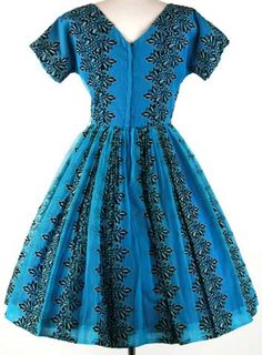 Vintage 1950's clothing