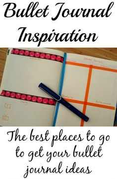 Go-to places for bullet journal inspiration