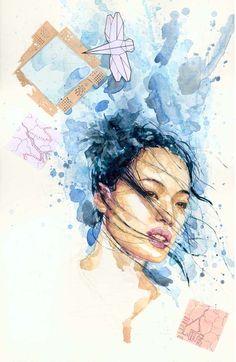 david mack watercolor