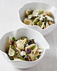 Pasta Salad with Grilled Vegetables, Parsley and Feta Recipe on Food & Wine