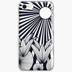 """""""The Sunset Flowers"""" iPhone Case & Cover, print design by Asmo Turunen. #design #atcreativevisuals #techaccessories #phonecase #iphonecase #hardcover #suojakuoret #apple Print Design, My Design, Cotton Tote Bags, Artwork Prints, Tech Accessories, Iphone Case Covers, Iphone 11, Apple, Sunset"""