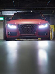 Matte red Audi S5 Red Audi, Vossen Wheels, Michael Bay, High End Cars, Audi S5, Car Goals, Matte Red, Street Racing, Audi Cars